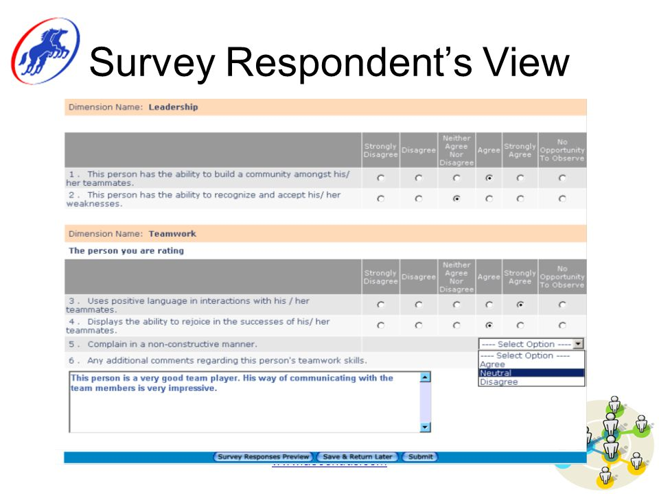 www.ascendus.com Survey Respondent's View
