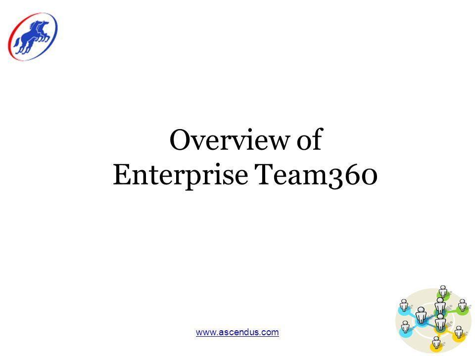 www.ascendus.com What Is Enterprise Team360.