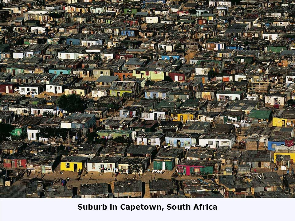 Suburb in Capetown, South Africa