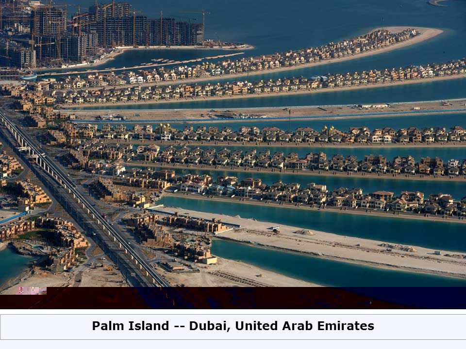 Palm Island -- Dubai, United Arab Emirates
