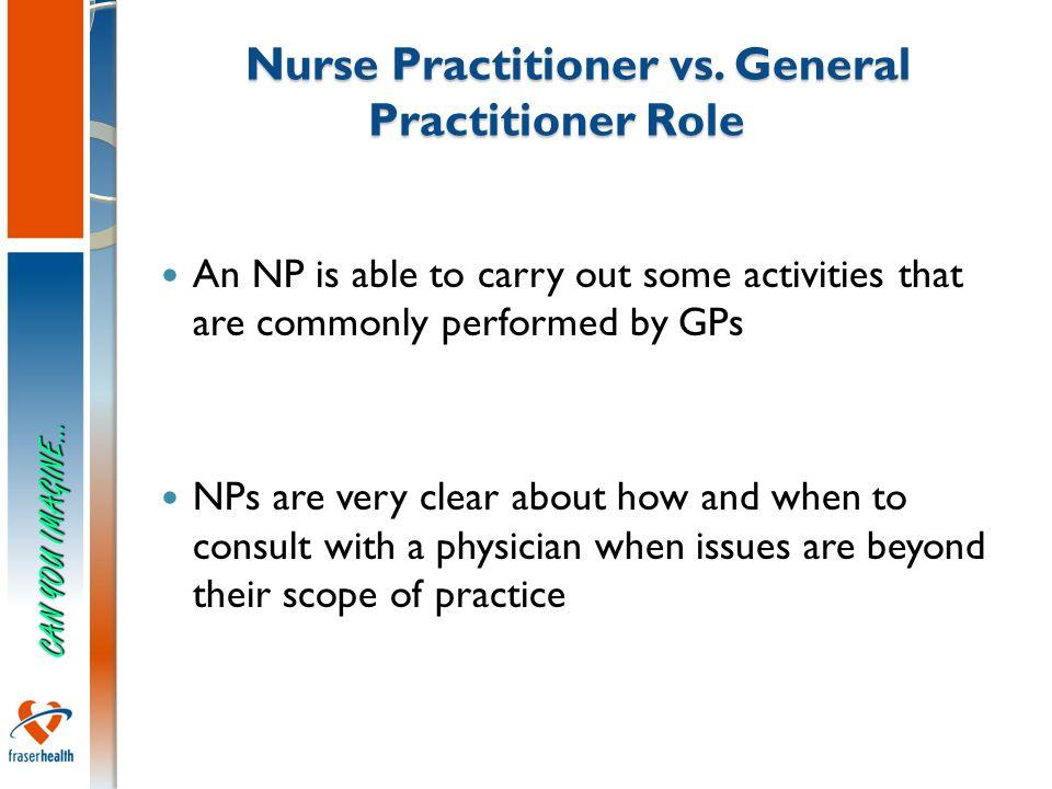 8 Nurse Practitioner vs.