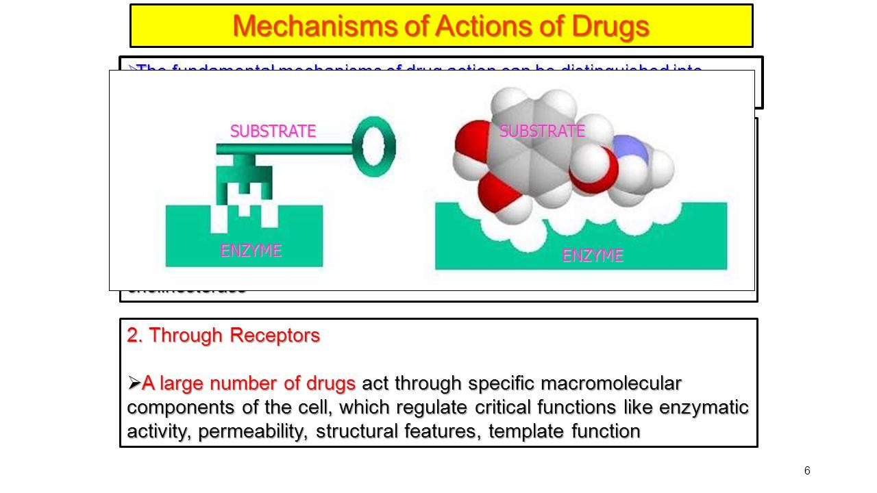 7 Macromolecular target Drug Unbound drug Macromolecular target Drug Bound drug Bindingsite Drug Binding site Binding regions Binding groups Intermolecular bonds An Introduction to Medicinal Chemistry, Patrick, Third Edition Receptors and Drug Action Pharmacological response