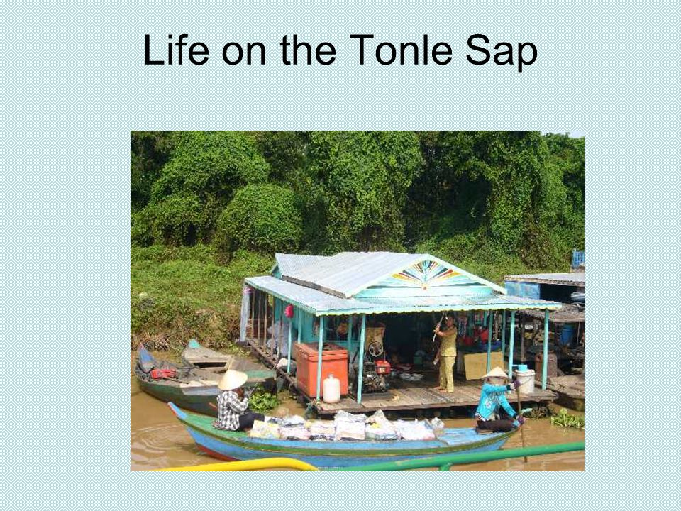Life on the Tonle Sap