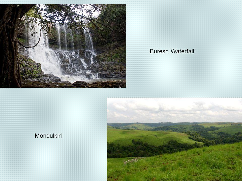 Mondulkiri Buresh Waterfall