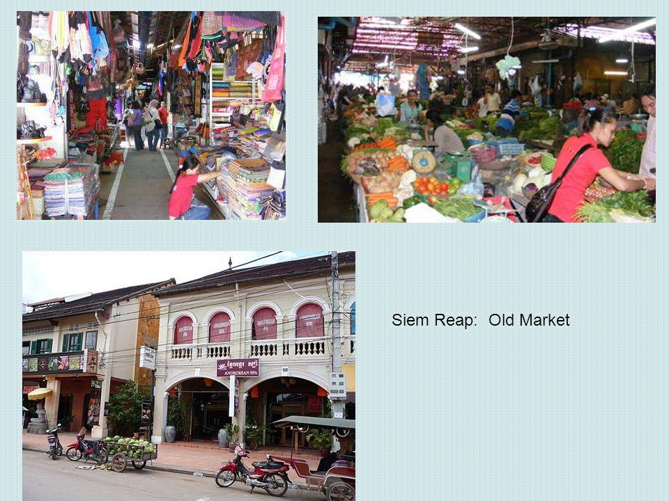 Siem Reap: Old Market