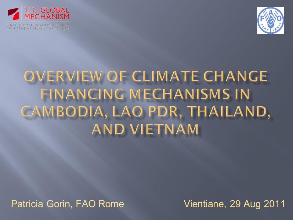 Patricia Gorin, FAO Rome Vientiane, 29 Aug 2011