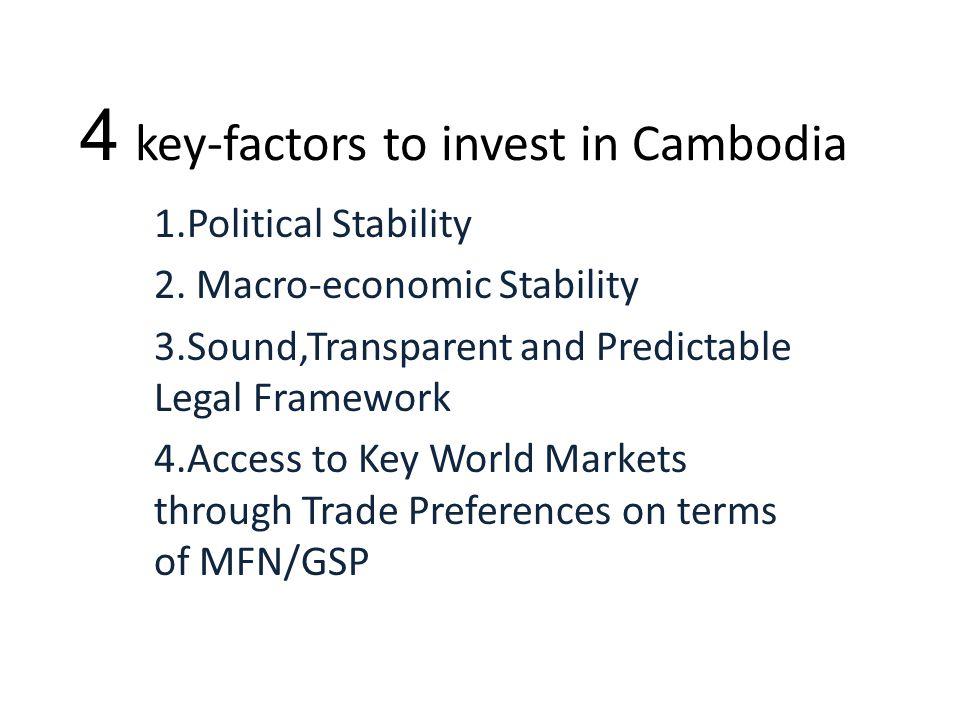 Cambodia CP has invested in Cambodia since 1995.