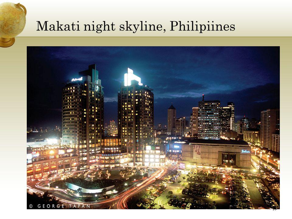 Makati night skyline, Philipiines 10