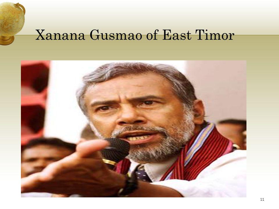 Xanana Gusmao of East Timor 11