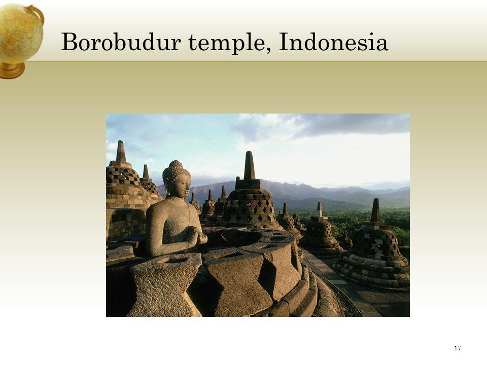 Borobudur temple, Indonesia 17