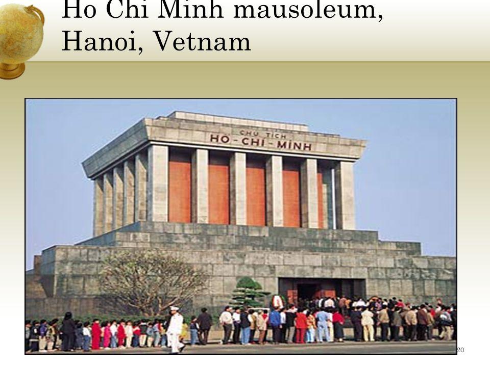 Ho Chi Minh mausoleum, Hanoi, Vetnam 20