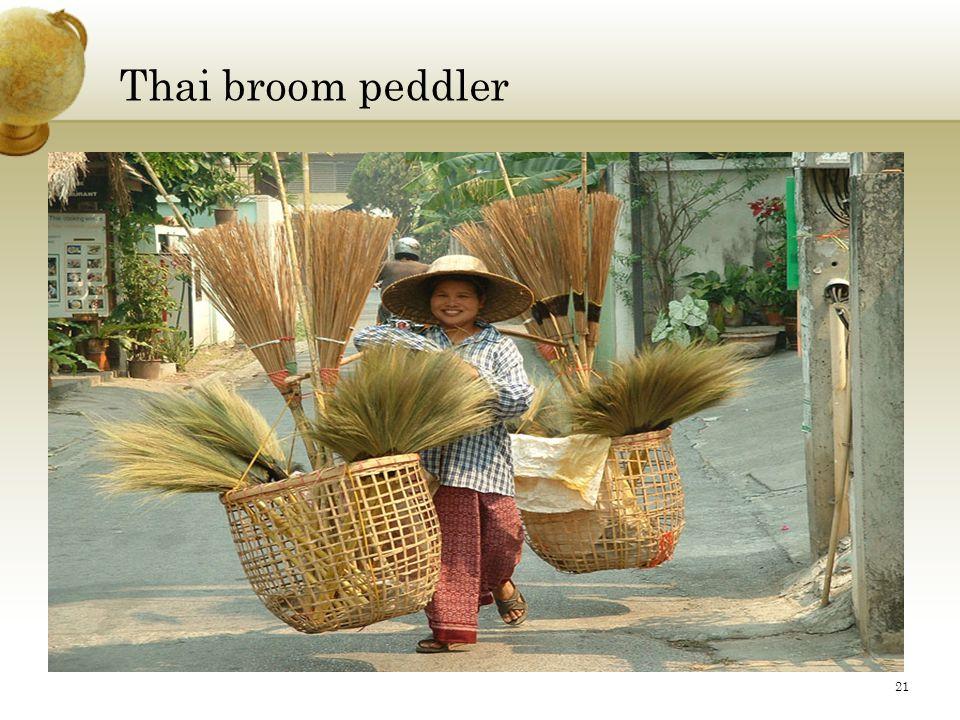 Thai broom peddler 21