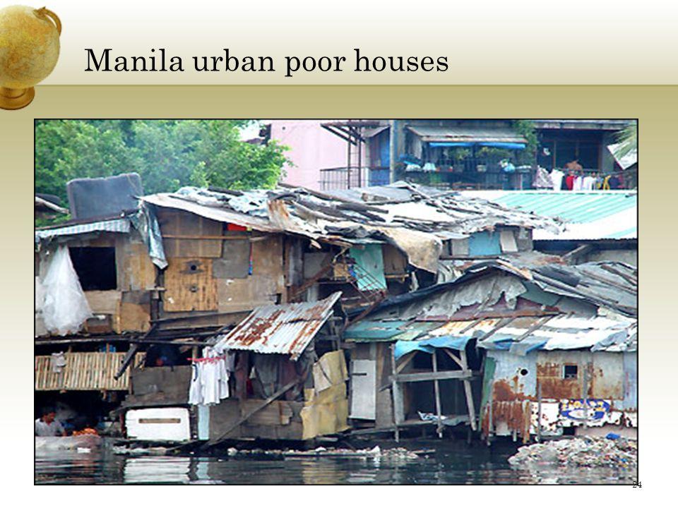 Manila urban poor houses 24