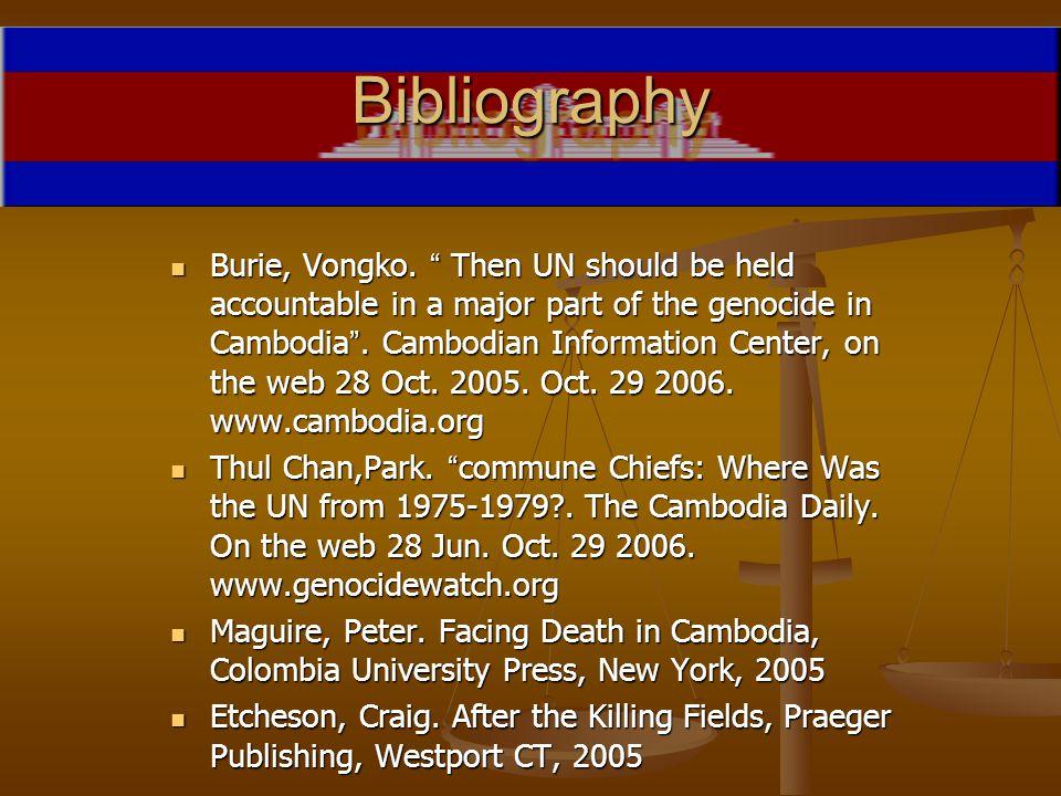 BibliographyBibliography Burie, Vongko.