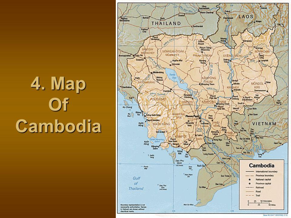 4. Map Of Cambodia