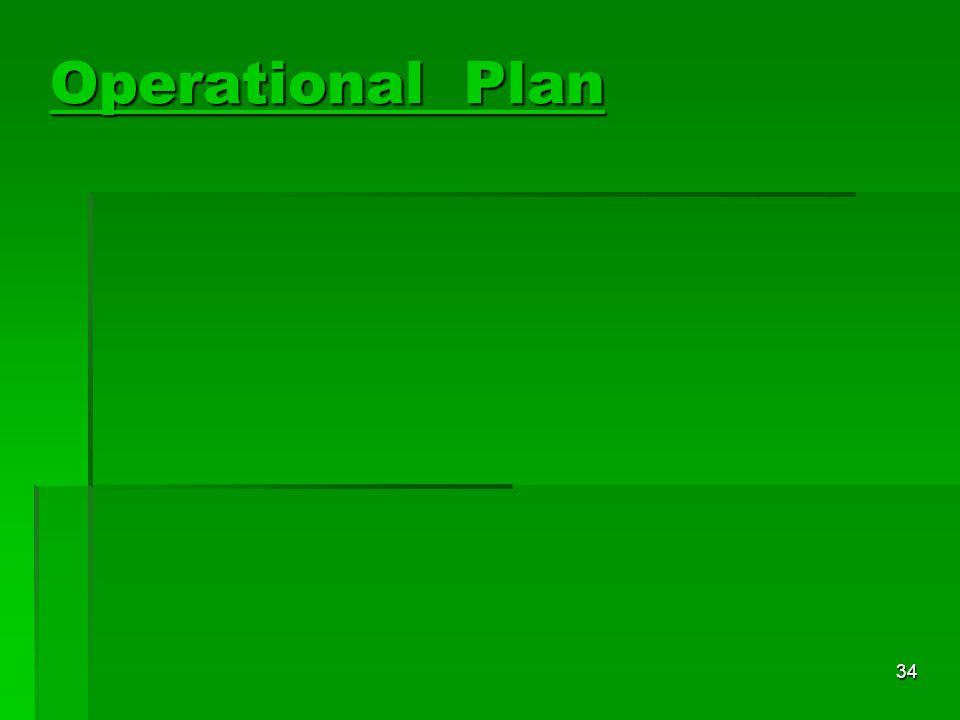 34 Operational Plan