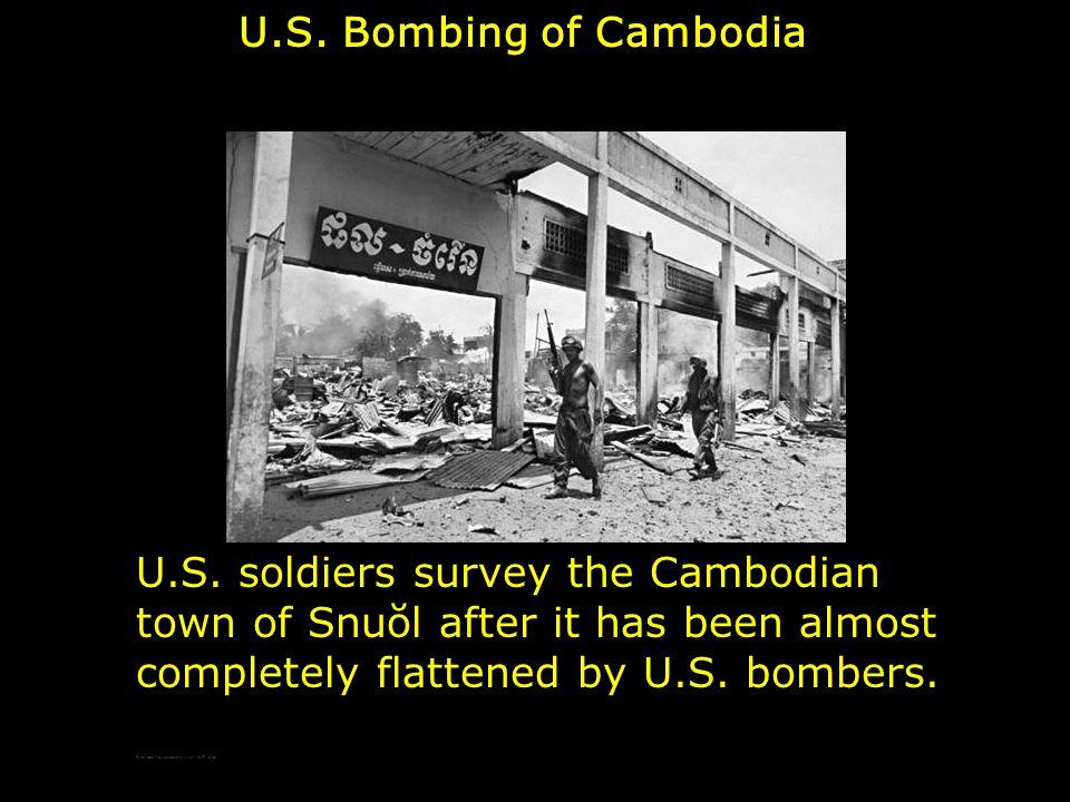 U.S. Bombing of Cambodia U.S.