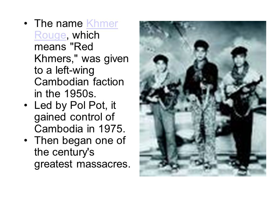 Pol Pot declared Year Zero and began a radical program to create an idealized agrarian communist society.