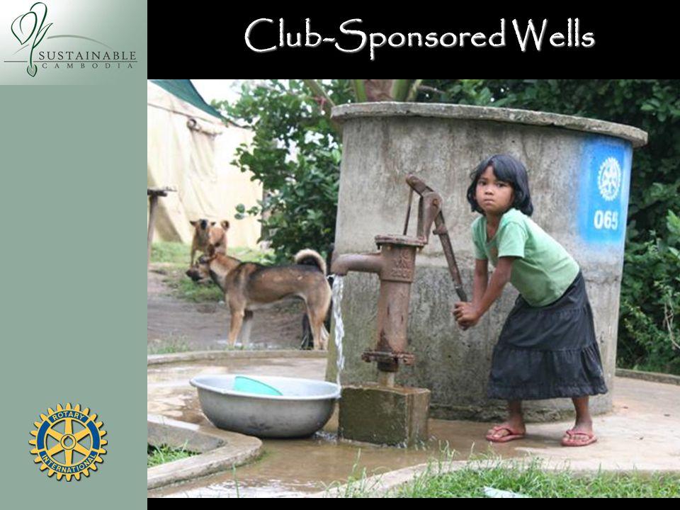 Club-Sponsored Wells