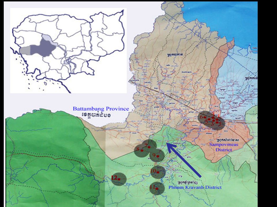 Map 2. Eastern Pursat Province & SC's target villages