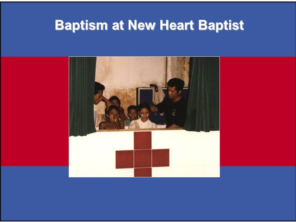 Baptism at New Heart Baptist