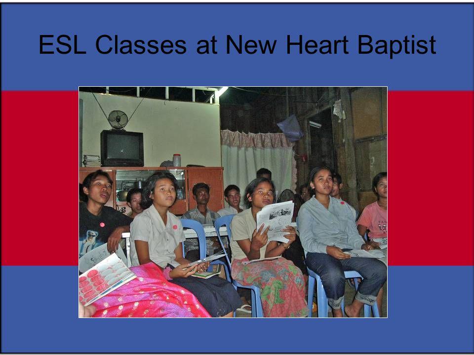 ESL Classes at New Heart Baptist
