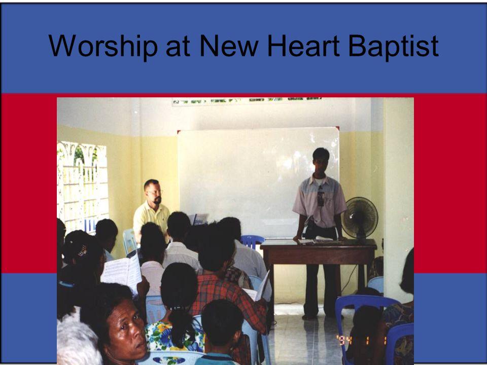 Worship at New Heart Baptist