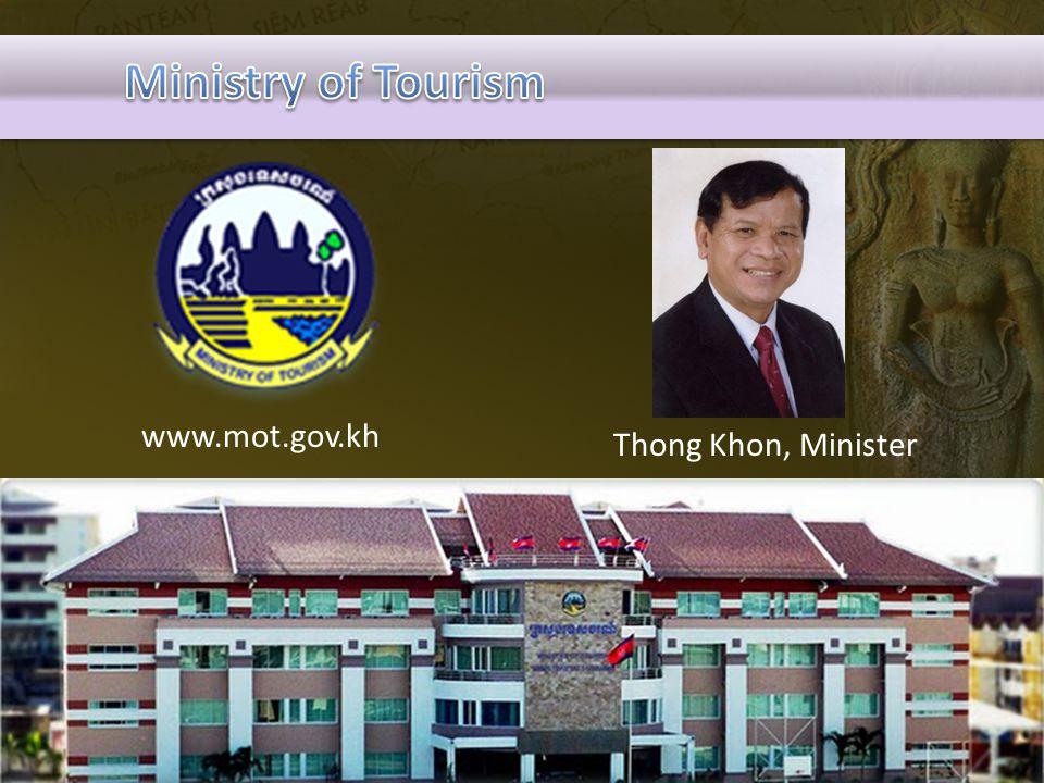 www.mot.gov.kh Thong Khon, Minister