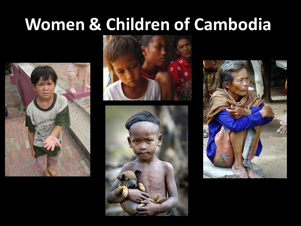 Women & Children of Cambodia