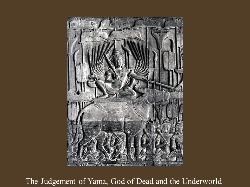 The Judgement of Yama, God of Dead and the Underworld
