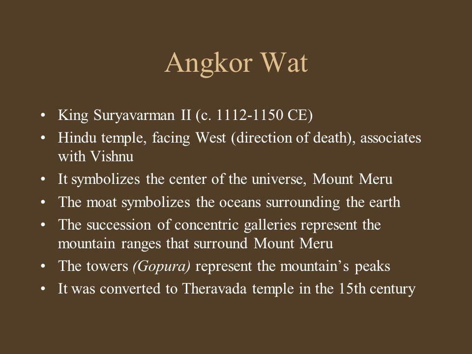Angkor Wat King Suryavarman II (c.