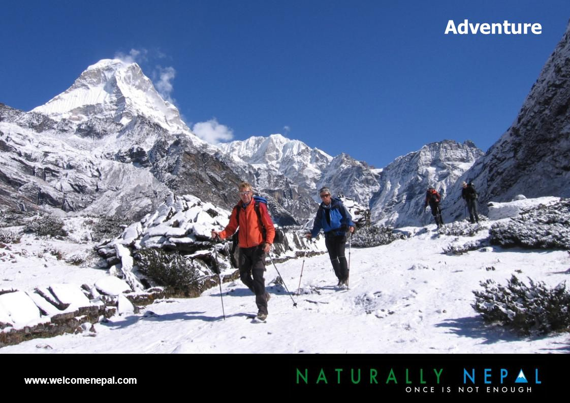 Adventure www.welcomenepal.com