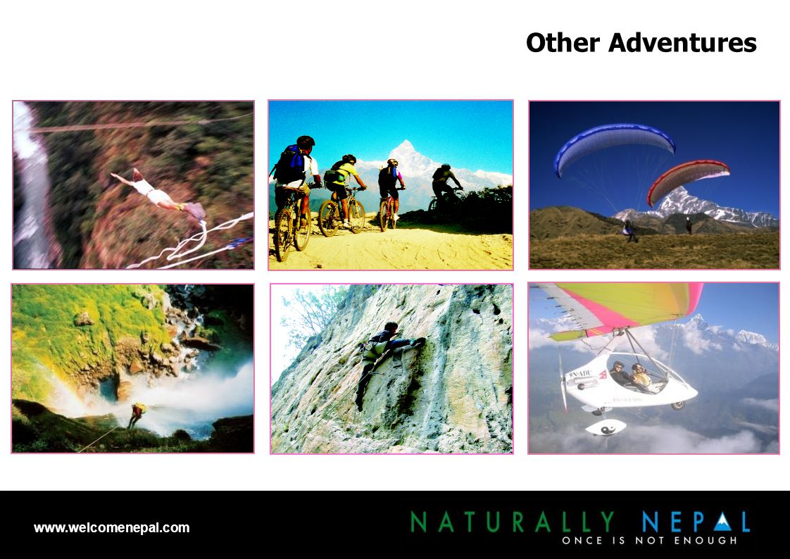 Other Adventures www.welcomenepal.com