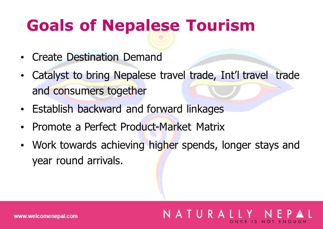 BRAND NEPAL SEGMENTS Weekend Breaks, Amazing Adventures, Experience of a Lifetime