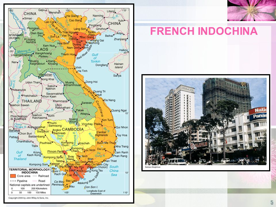 5 FRENCH INDOCHINA
