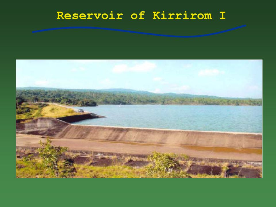 Reservoir of Kirrirom I