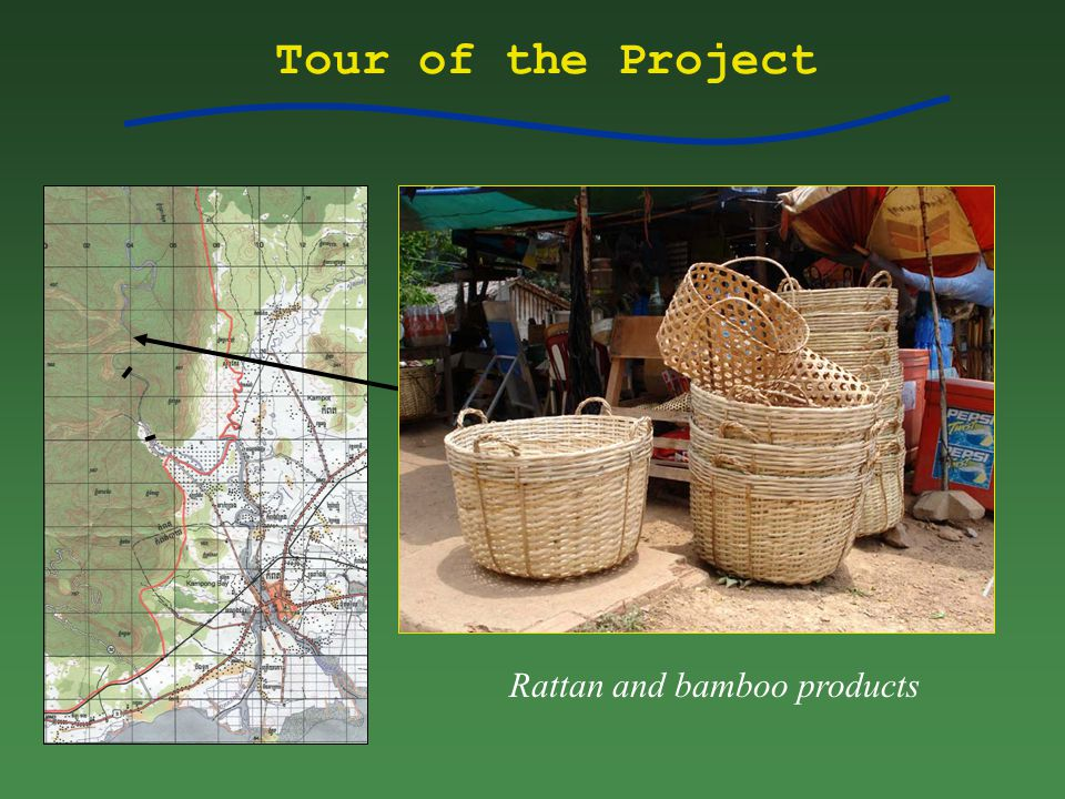 Tour of the Project Rattan and bamboo products