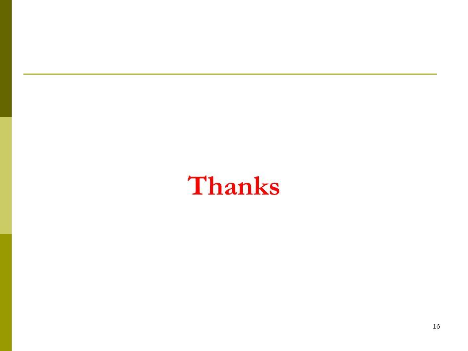 Thanks 16