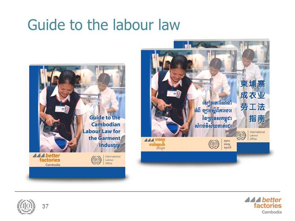37 Guide to the labour law