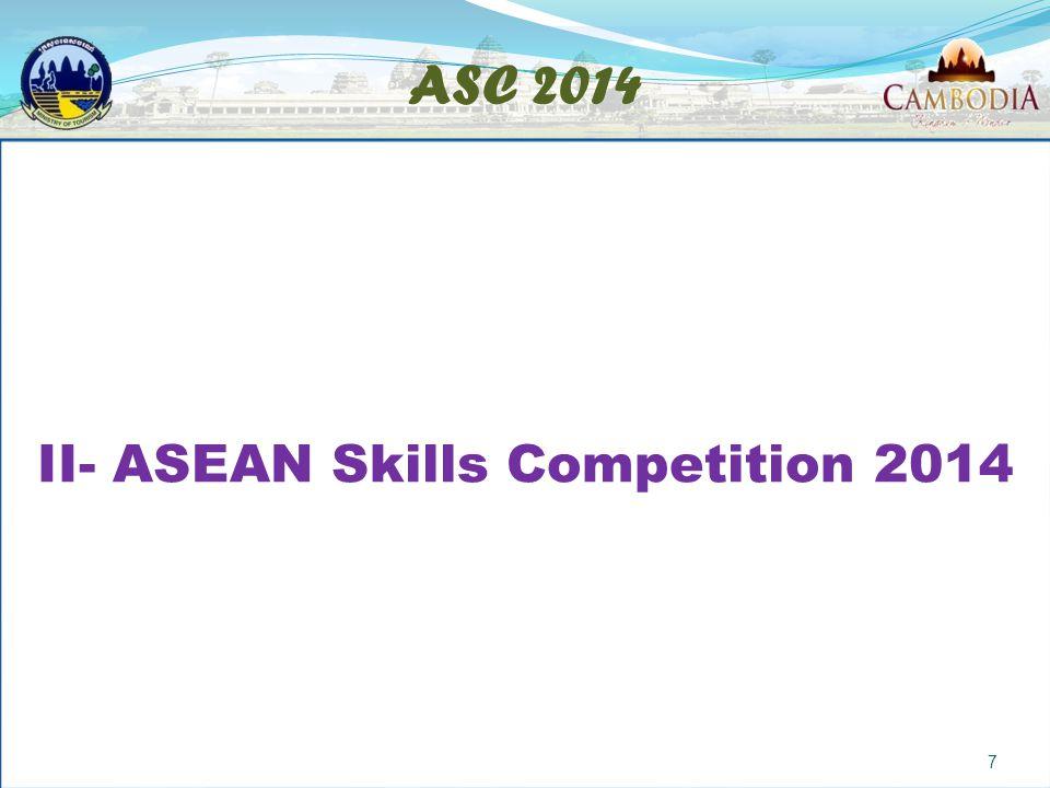 ASC 2014 II- ASEAN Skills Competition 2014 7