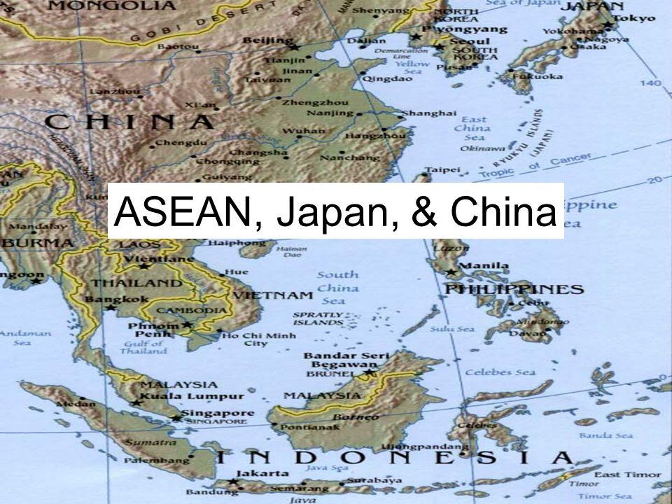 ASEAN, Japan, & China