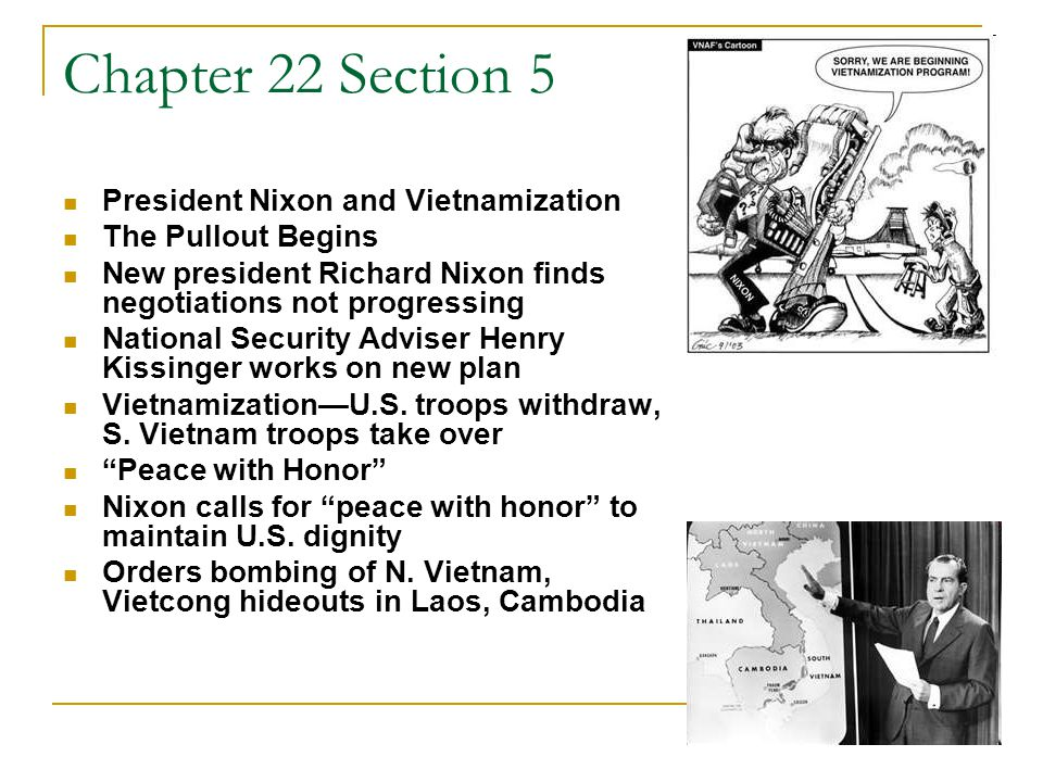 Chapter 22 Section 5 Trouble Continues on the Home Front Mainstream America Silent majority— moderate, mainstream people who support war The My Lai Massacre News breaks that U.S.