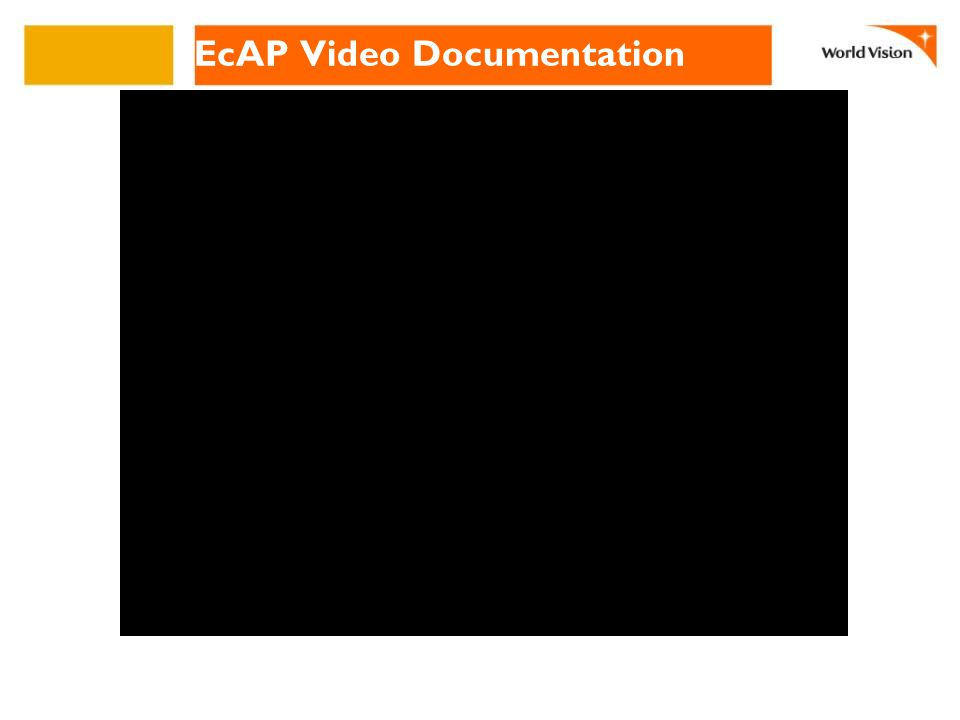 EcAP Video Documentation