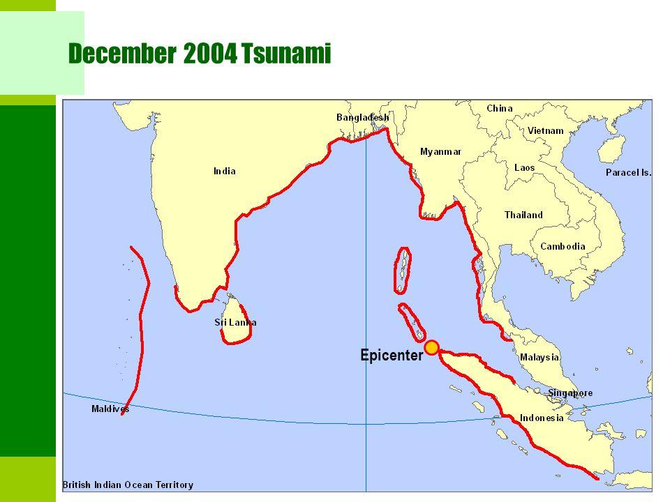 December 2004 Tsunami Epicenter