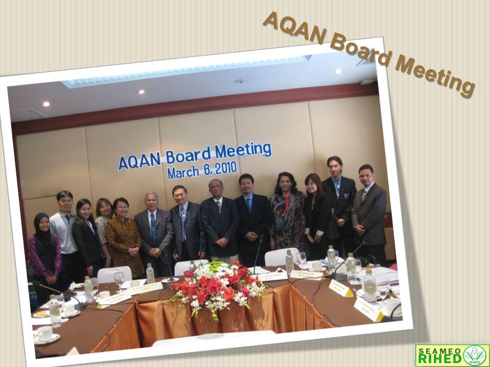 AQAN Board Meeting