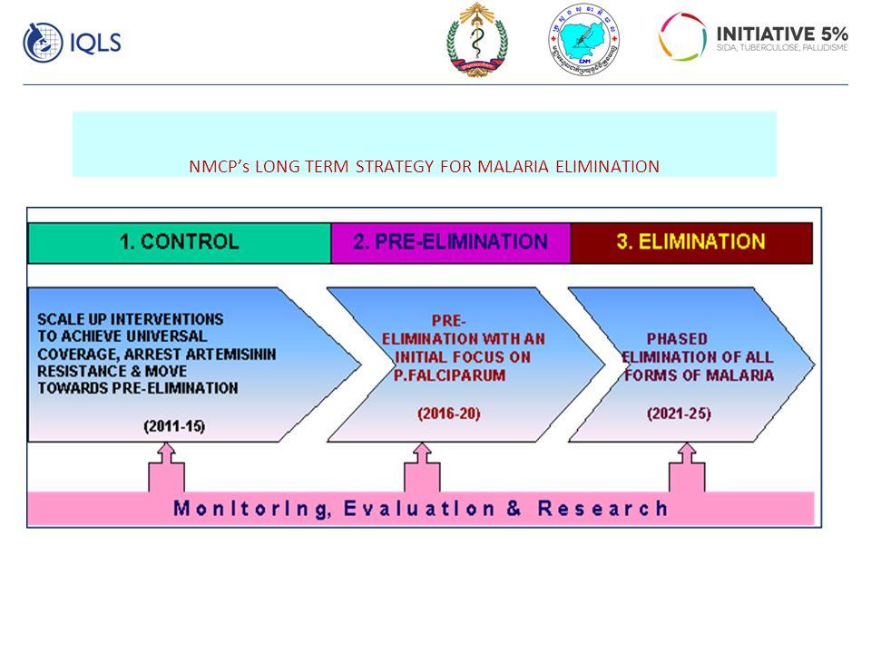 NMCP's LONG TERM STRATEGY FOR MALARIA ELIMINATION