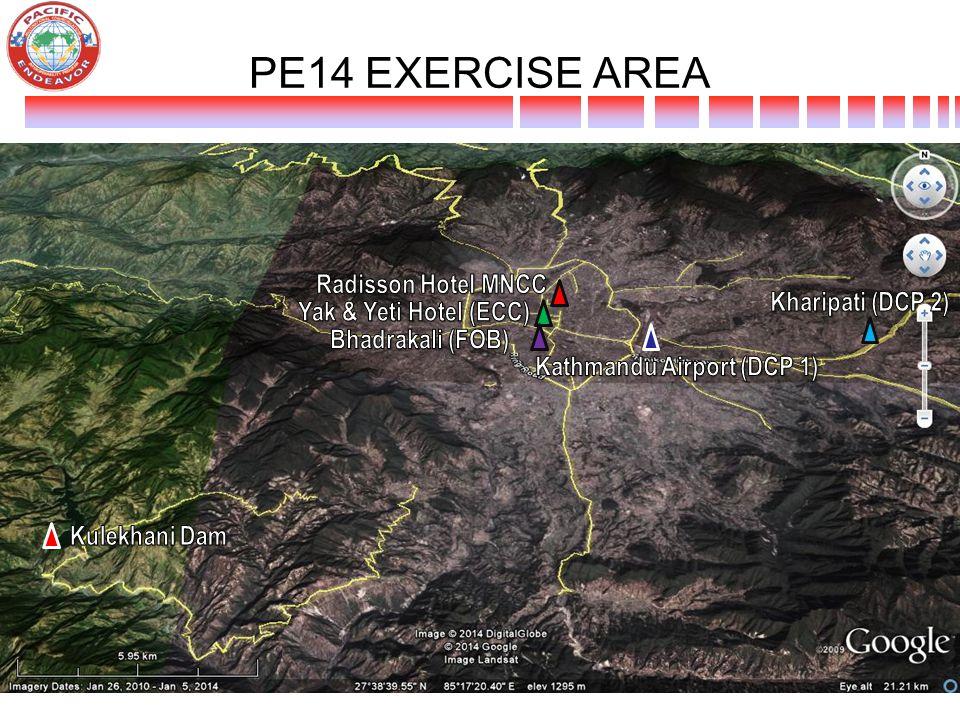 PE14 EXERCISE AREA