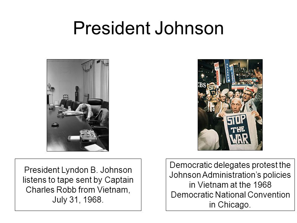 President Johnson President Lyndon B.