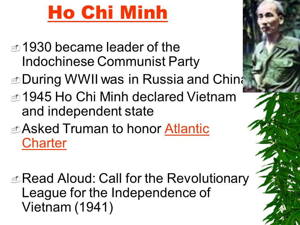 Presenter on Ho Chi Minh