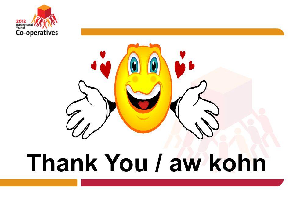 Thank You / aw kohn